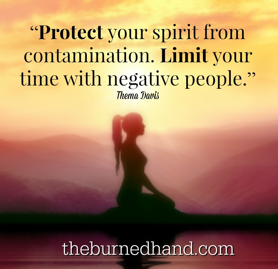 Protect yourself from negative energy