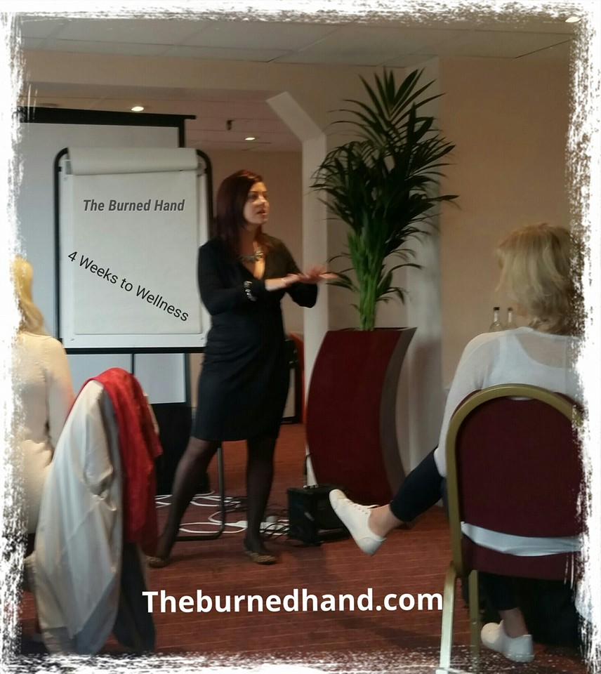 Aimee Speaking in London